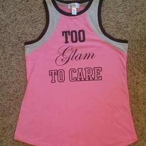 Just Be Tank Top Size Small